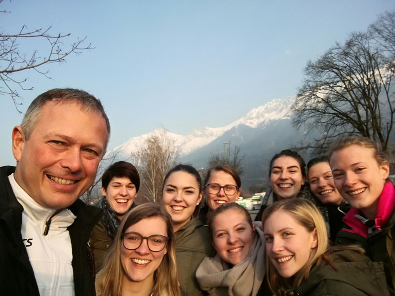 UVF Melk Damen in Innsbruck